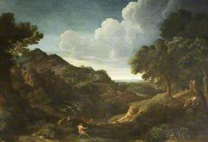 Mountainous Landscape with Eurydice (?)