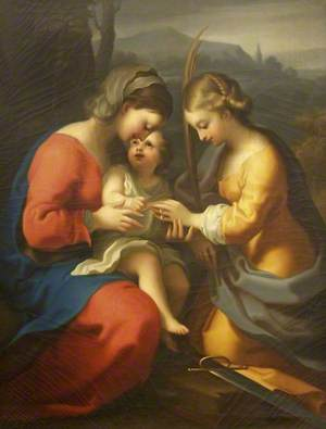The Mystic Marriage of Saint Catherine