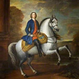 Henry Hoare II (1705–1785), on Horseback