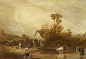 A Mill near Llangollen