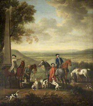 The Meet of a Hunt with Henry Hoare II (1705–1785)
