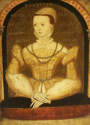 Elisabeth de Valois (1545–1568), Queen Isabella of Spain