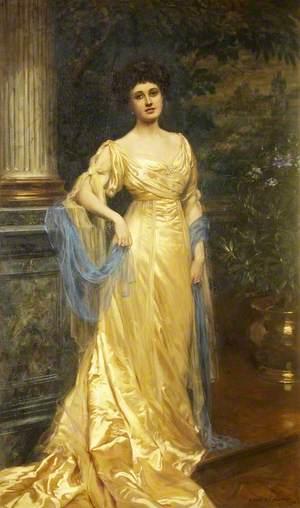 The Honourable Victoria ('Via') Florence de Burgh Long (1880–1920), Lady Gibbs