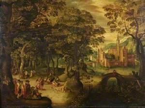 Landscape with a fête champêtre