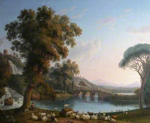 Imaginary River Landscape