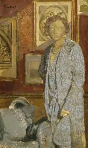 'Lady in Blue' (Lady Berwick)