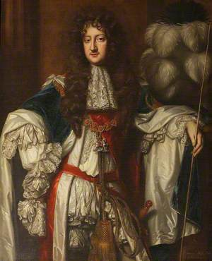 Laurence Hyde (1641–1711), 1st Earl of Rochester, in Garter Robes