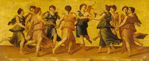 Apollo and the Muses Dancing
