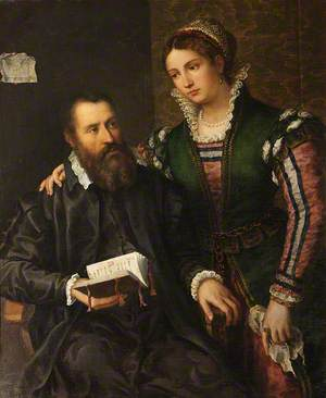 Portrait of an Unknown Man and Woman