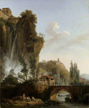 Landscape with a Ravine and a Bridge