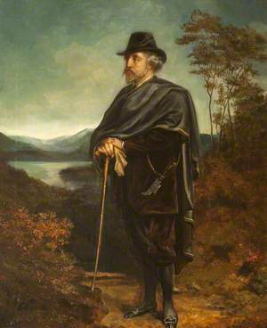 Marmion Edward Ferrers (1813–1884), Out Walking
