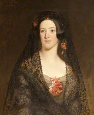 Margaret Anne Ferrers (c.1820–1892), Mrs Arthur Edward Onslow
