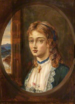 Edith Frances Rosamond Orpen (1859/1860–1939), Aged 13