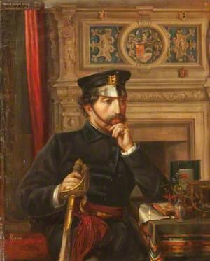 Captain Marmion Edward Ferrers (1813–1884), in the Uniform of the Warwickshire Militia