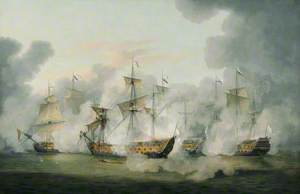 The Battle of Martinique, 17 April 1780