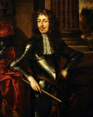 Portrait of an Unknown Man in Armour (Sir Walter Kirkham Blount, d.1717, 3rd Bt, of Sodington)
