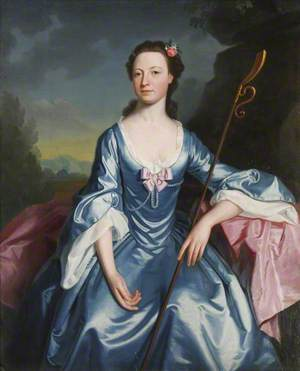 Margaret Messenger (b.1737), Mrs Walter Strickland