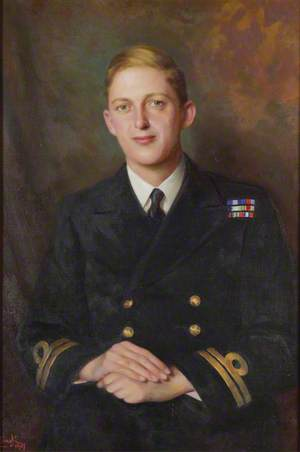 Lieutenant-Commander Thomas Hornyold-Strickland (1921–1983), 7th Count della Catena
