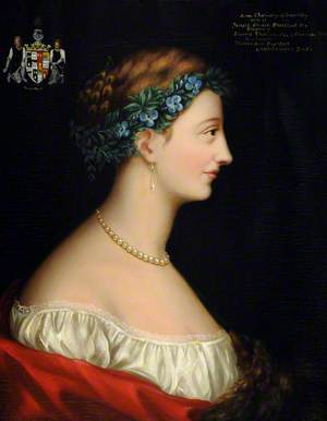 Anne Cholmeley (1796–1829), Mrs Jarrard Edward Strickland