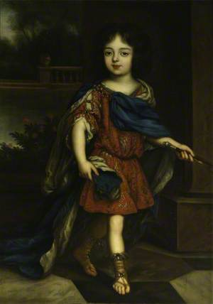 Charles Lennox (1672–1723), 1st Duke of Richmond and Lennox, as a Child