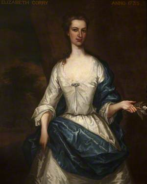 Elizabeth Corry (1715–1791) (?), Later Mrs Archibald Hamilton, and Finally Mrs James Leslie
