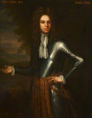 Colonel John Corry (1666–1726), MP, in Armour