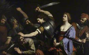 The Capture of Cassandra and Death of Coroebus