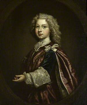 William Augustus (1721–1765), Duke of Cumberland, as a Boy, Wearing the Robes of the Order of the Bath