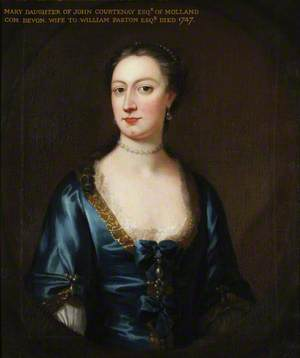 Mary Courtenay (d.1747), Mrs William Paston