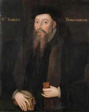 Sir Robert Throckmorton (d.1586)