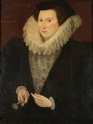Anne Carew (1520–1587), Lady Throckmorton, Aged 53