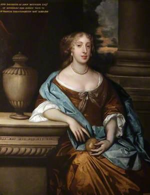 Anne Monson (d.1728), Lady Throckmorton