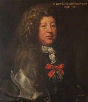 Sir Francis Throckmorton (1641–1680), 2nd Bt