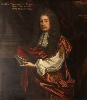 Sir Robert Throckmorton (1662–1720), 3rd Bt