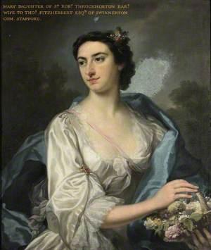 Mary Teresa Throckmorton, Mrs Thomas Fitzherbert