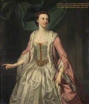 Catherine Collingwood (d.1761), Lady (Robert) Throckmorton