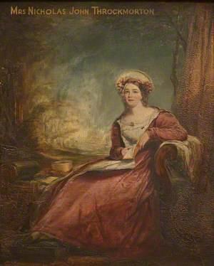 Mary Chare (1806–1862), Mrs Nicholas John Throckmorton