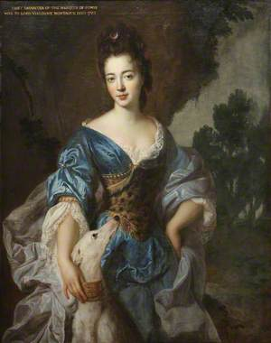 Lady Mary Herbert (1659–1744/1745), Viscountess Montagu, Previously the Honourable Lady Richard Molyneux, and Later Lady Maxwell, as Diana