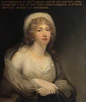 Maria Catherine Giffard (1762–1821), Lady Throckmorton