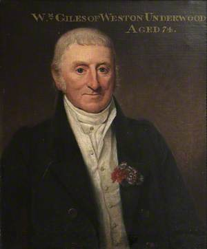 William Giles, Butler at Weston Underwood, Aged 74