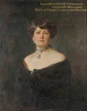 Elizabeth Hanbury-Williams (c.1855–1939), Mrs Henry Langford-Brooke