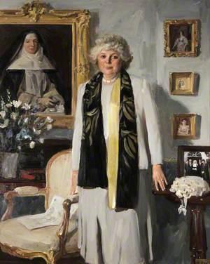 Clare McLaren-Throckmorton (b.1935)