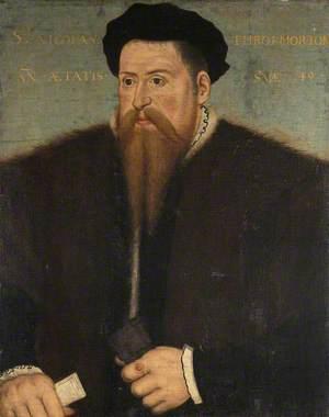 Sir Nicholas Throckmorton (1515–1571), Aged 49