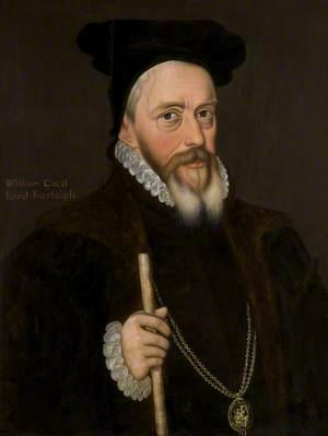 Sir William Cecil (1520–1598), 1st Baron Burghley, KG