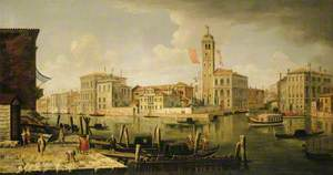 View of the Entrance to the Canareggio, Venice