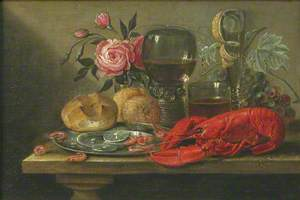 Still Life with Shellfish