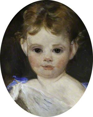 Auda Letitia Vernon (1862–1957), Later Mrs T. A. Hill, as a Child