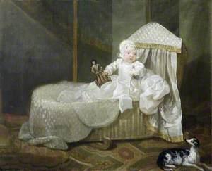 Gerard Anne Edwards Hamilton (1732–1773), in His Cradle