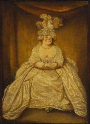Lady Pentweazle from Samuel Foote's 'Taste' of 1752