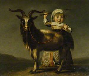 A Child with a Goat